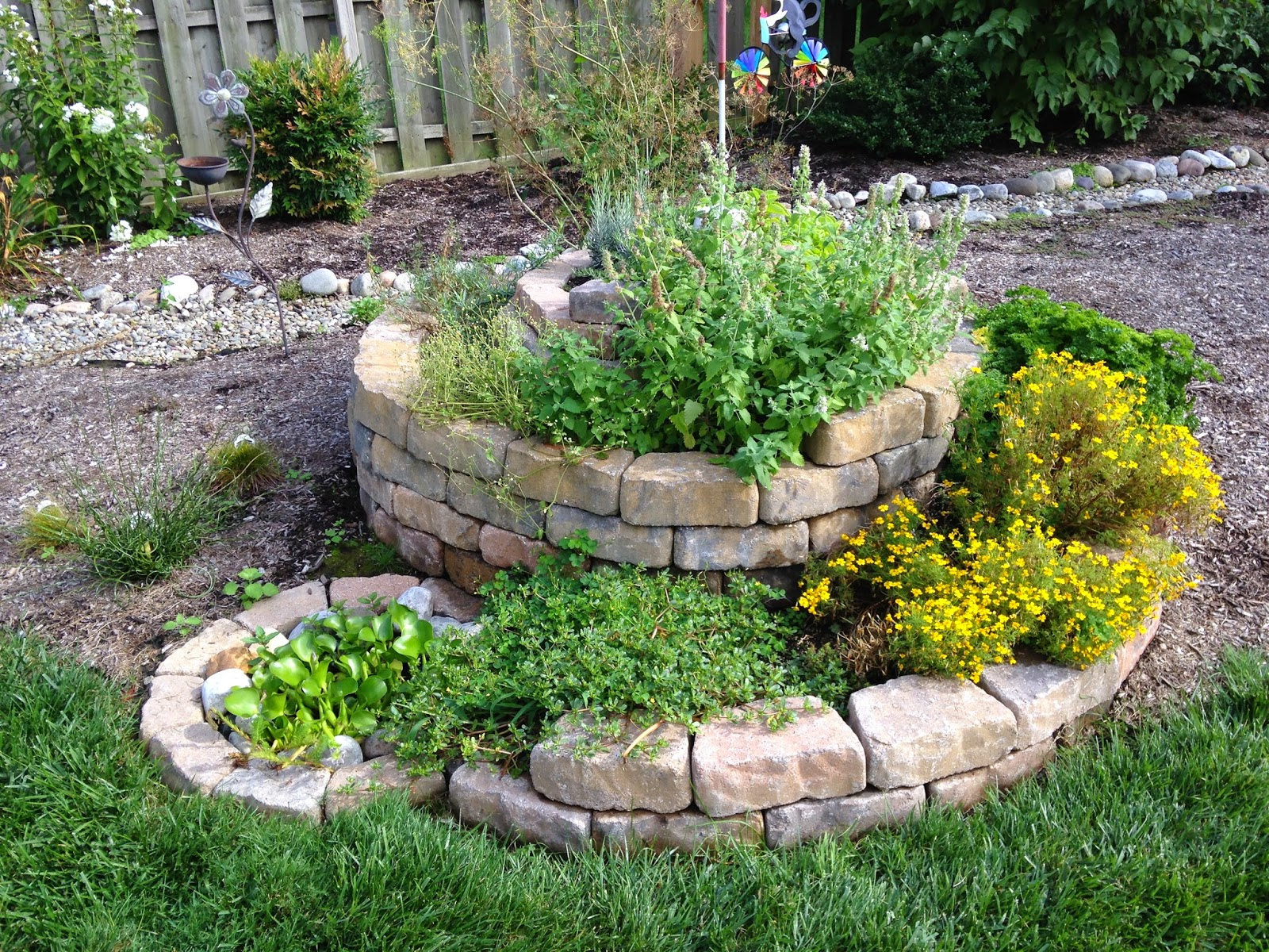 Herb Spirals – Philly Permaculture